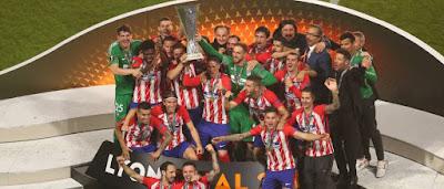 Atletico de Madrid Europa Cup 2018 Champions