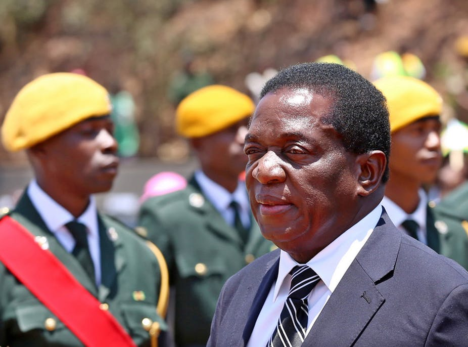 Mugabe Resigns: End Of An Era: Robert Mugabe's Reign Comes To A Painful Halt Mnangagwa Takes Over