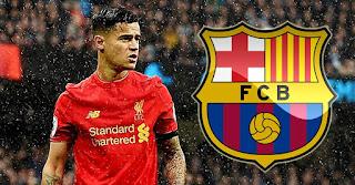 فيليبي كوتينيو، مهاجم ليفربول الإنجليزي في برشلونة مقابل 120 مليون يورو