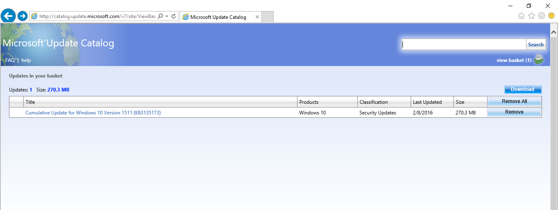 microsoft download catalog
