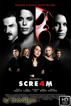 Scream 4 [1080p] [Latino-Ingles] [MEGA]