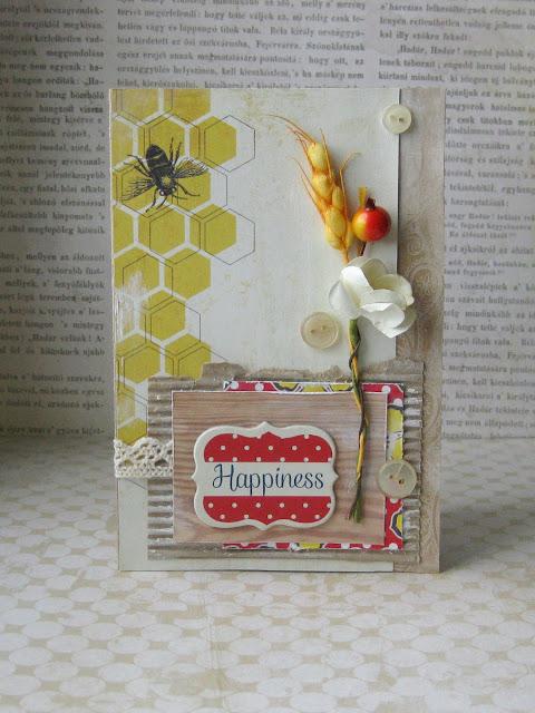 открытка с колоском