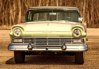 1957 Ford Fairlane 500 Dual Quad Front