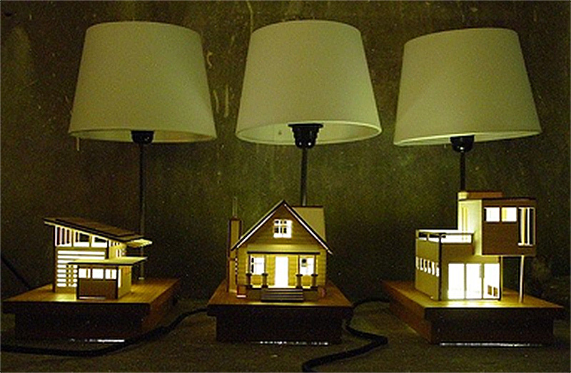 house shaped lamps