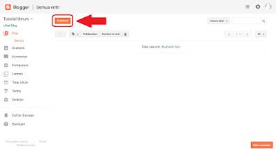 cara mudah posting artikel di blog untuk pemula