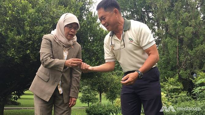 Mdm President wants to invite Singaporeans to Istana's herb garden to harvest fruits and spices