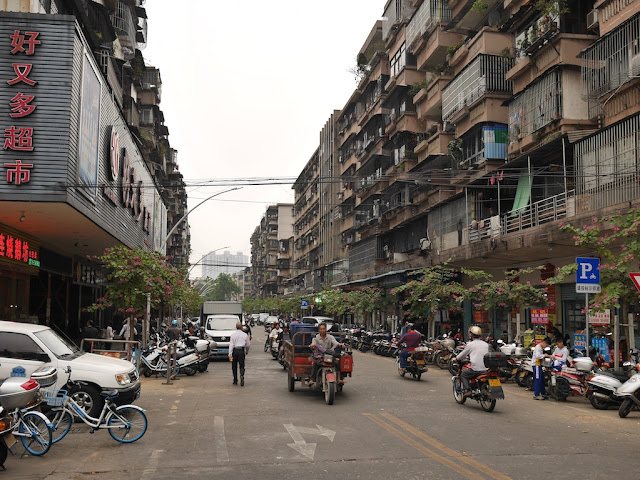 section of Baisha Road in Jiangmen