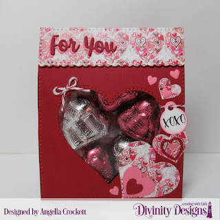 Stamp Set:  Festive Favors Tag Sentiments, Custom Dies: Festive Favors, Layering Hearts, Clouds and Raindrops, Paper Collection: Heart & Soul