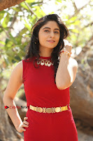 Telugu Actress Zahida Sam Latest Pos in Red Gown at RF Films New Movie Opening  0172.JPG