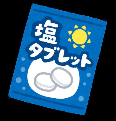 塩タブレットのイラスト
