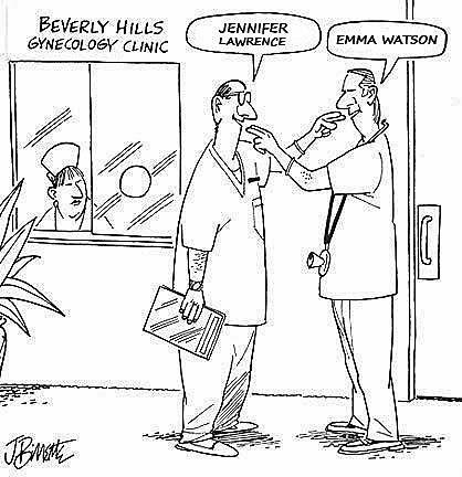Gynäkologe Frauenarzt Comic lustig zum lachen