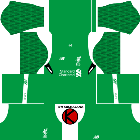 Liverpool Kits 2017/18 - Dream League Soccer 2017 - Kuchalana