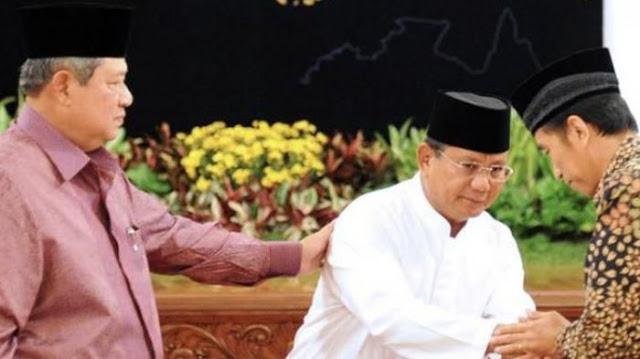 Perkataan Jokowi Jadi Boomerang, Saat Pertemuan SBY-Prabowo