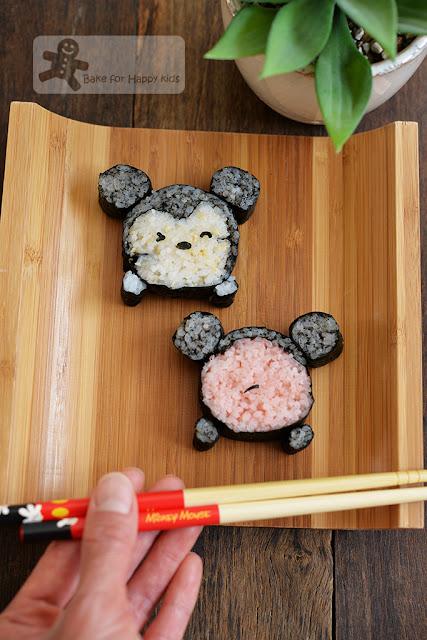 Disney Mickey Tsum Tsum Sushi