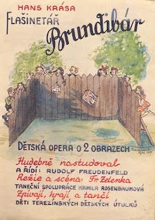Hans Krása (Composer)  Flašinetář Brundibár Organ-grinder Brundibár (Bumble Bee).