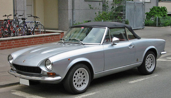 Here Is The Original Convertible Version Of Old Fiat 124 Pininfarina Design Still Looks Fantastic