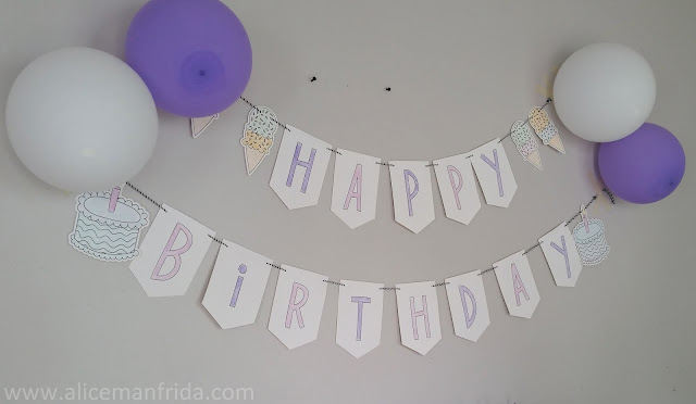 Harold Turns One, Happy Birthday, purple party decorations, balloons, Harold and the Purple Crayon party, first birthday party,
