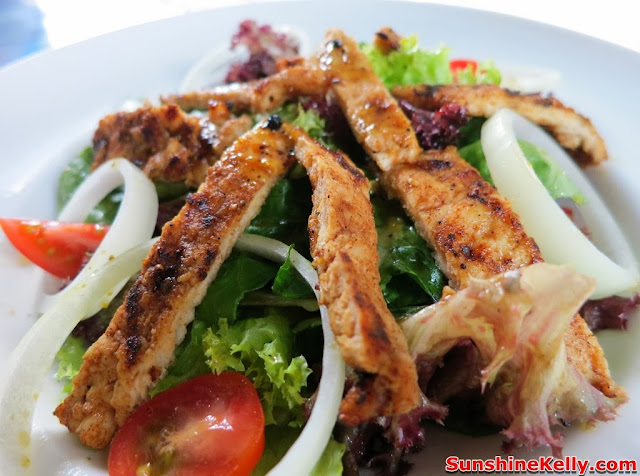 Bavarian House, German Restaurant, food review, german food, pork, taman desa, bavarian pork salad