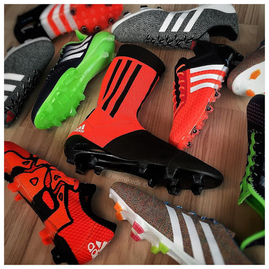 171fc54815ba While the promotion colorway of the Adidas Primeknit FS Prototype Cleats  featured a black collar with a red horizontal stripe