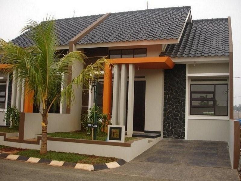 model rumah sederhana tapi bagus modern