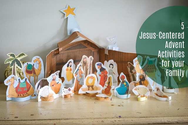 Manger scene interactive advent from focus on the family