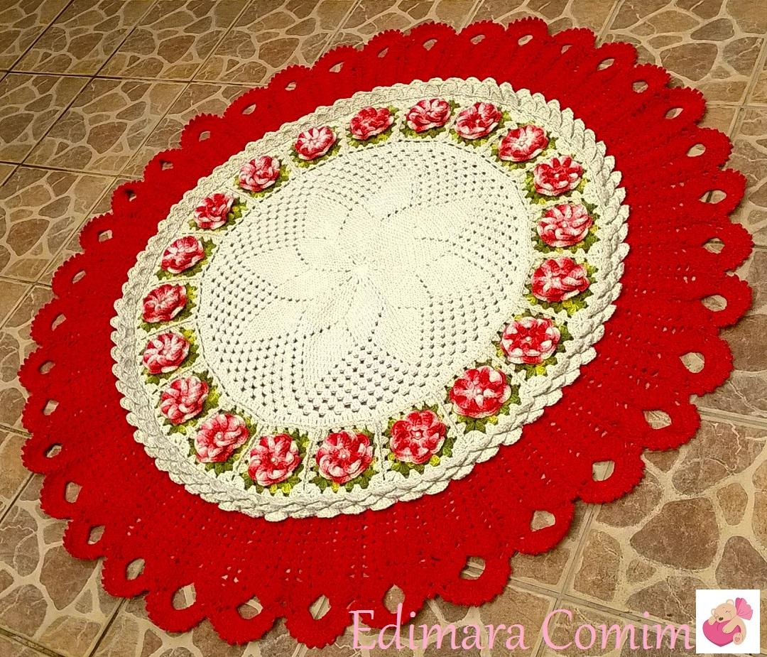 Tapetes Redondos Tapetes Peludoskit Para Redondos E Veludos  -> Tapete Para Sala Croche