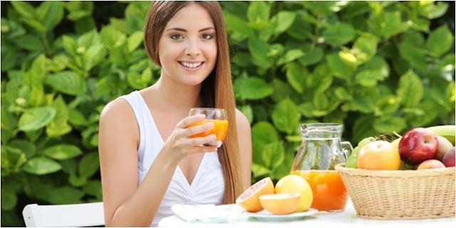 Kulit Sehat Dengan Diet Sehat