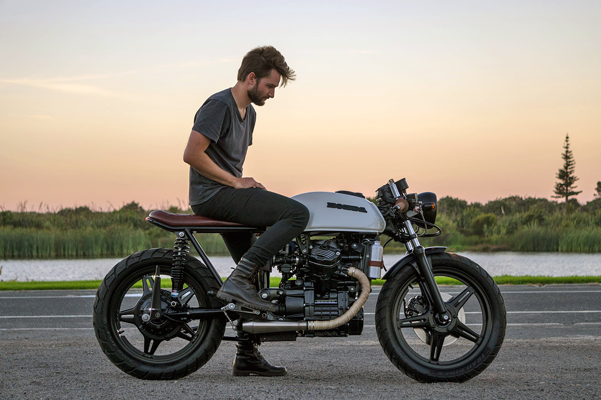 overcoming adversity - will's honda cx500 ~ return of the cafe racers