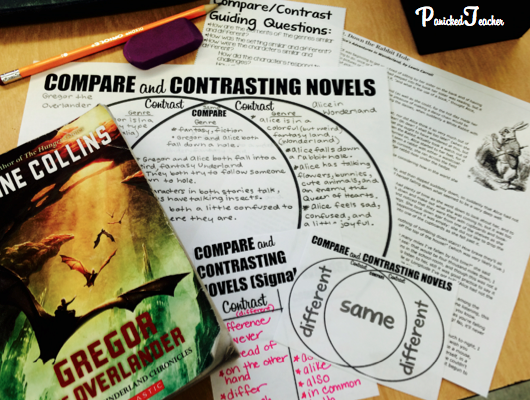 comparing and contrasting blogs