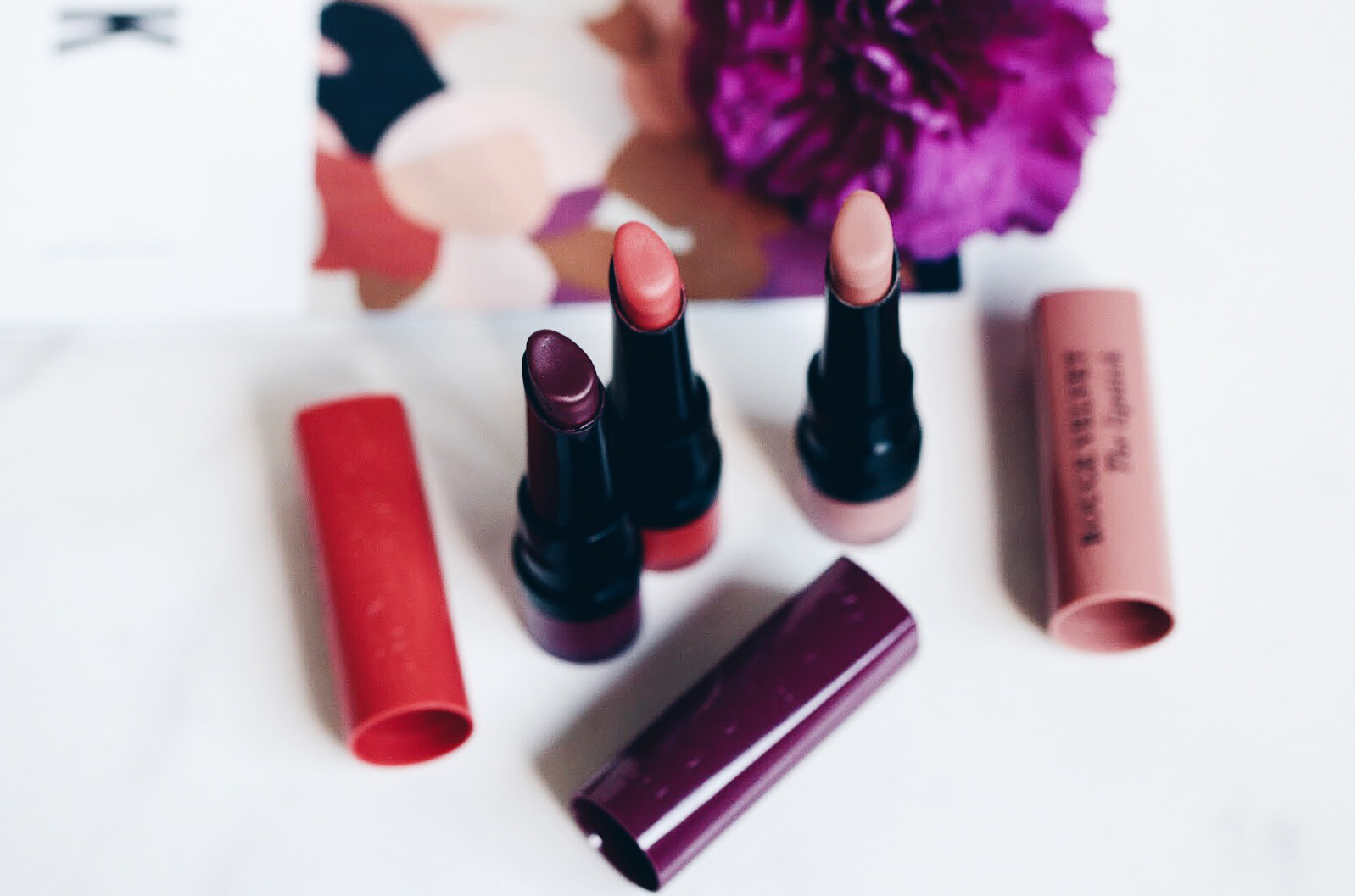 bourjois rouge velvet the lipstick avis test swatches