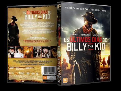 Capa DVD Os Últimos Dias de Billy the Kid