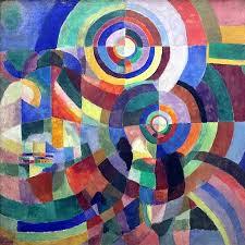 Les Prismes électriques de Sonia Delaunay -1914 - MAM Pompidou