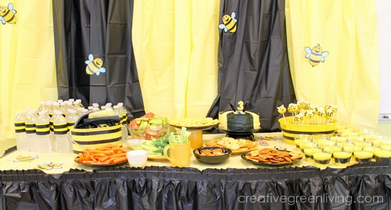 bee party food ideas