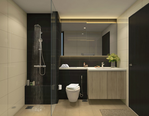 Gem Residences Bathroom