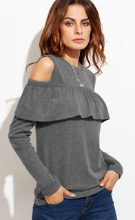 www.shein.com/Grey-Cold-Shoulder-Ruffle-Trim-T-shirt-p-315269-cat-1738.html?aff_id=5061