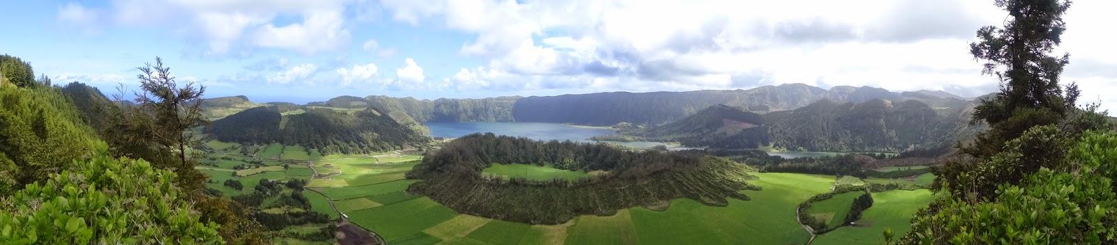 Lago Azul y Verde