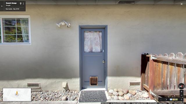 Eine StreetView Aufnahme der Google Garage von außen