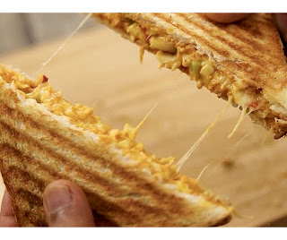 Tandoori grilled sandwich recipe step by step