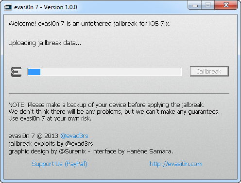 Uploading Jailbreak Data