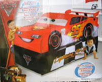 Disney PIXAR Cars 2 Lightning McQueen Vehicle PlayHut