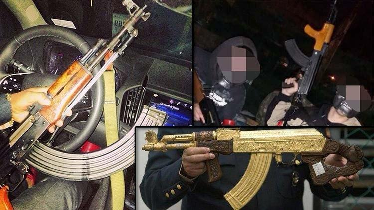 Por que el AK-47 es el fusil más popular entre los narcotraficantes en México