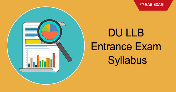DU LLB Entrance Exam - Syllabus