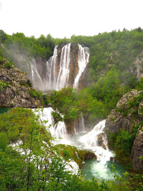 Big Waterfall at Plitvice Lakes National Park, Croatia