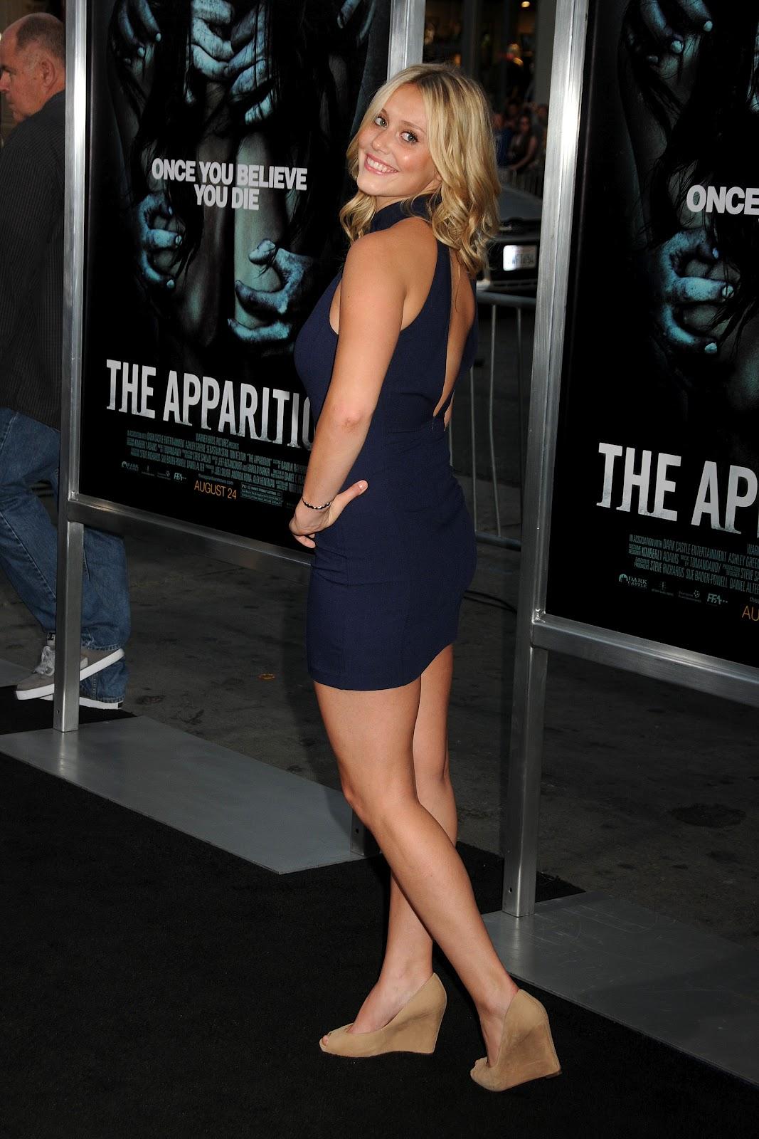 Julianna Guill at The Apparition Premiere - Sexy Leg Cross
