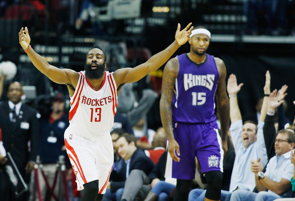 James Harden victorieux face aux Kings