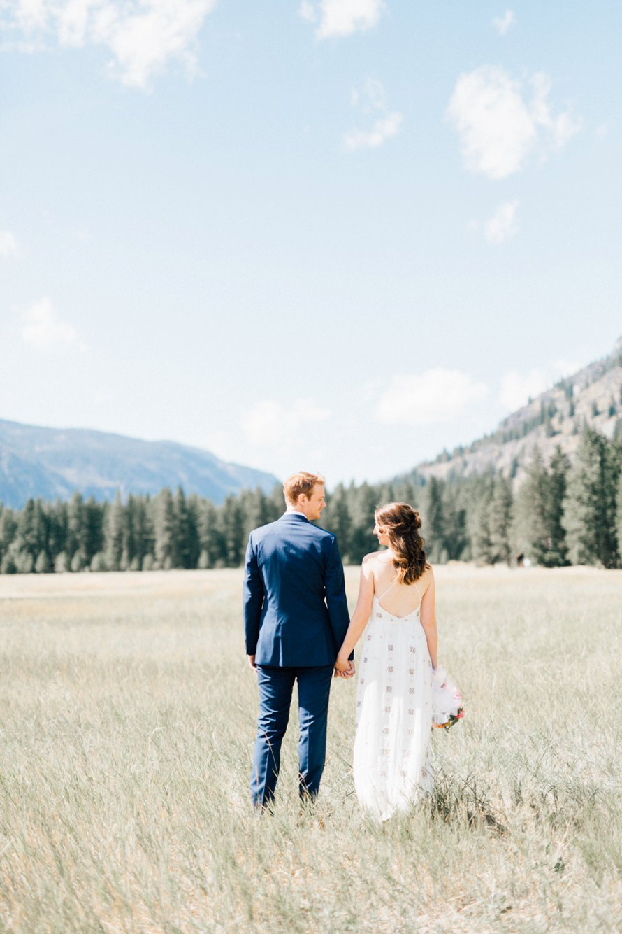 Romantic Methow Valley Wedding Photographed by Something Minted