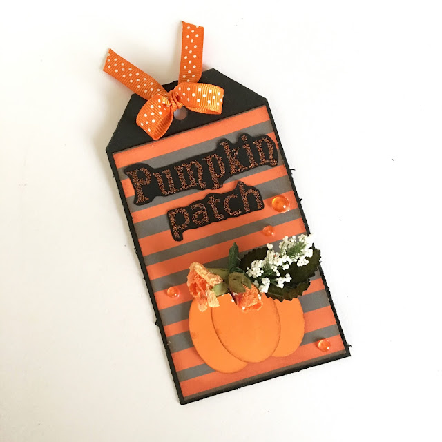 Halloween Tag by Angela Tombari for The Robin's Nest