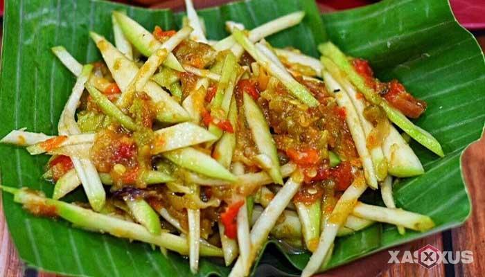 Resep cara membuat sambal mangga