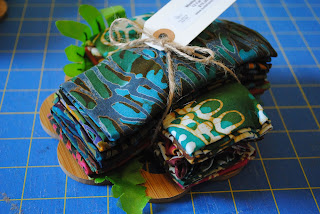 Fat eighth bundle from Turtle Hand Batiks