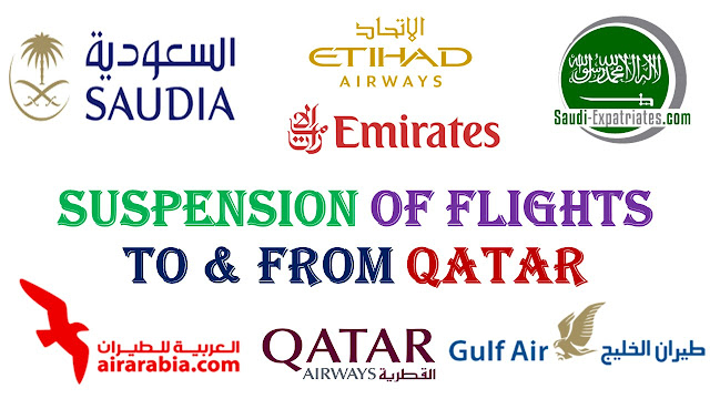 FLIGHTS SUSPENSION BETWEEN QATAR AND SAUDI ARABIA